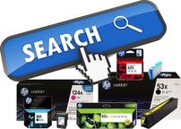 Търсачка за консумативи HP