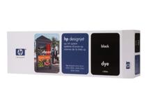 Мастила и глави за широкоформатни принтери » HP Комплект за DJ CP Dye, Black