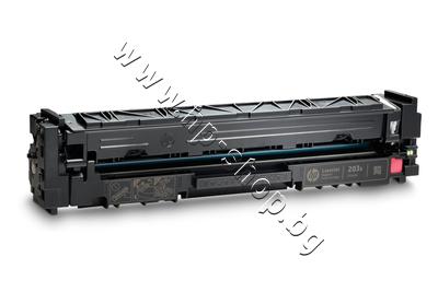 CF543X Тонер HP 203X за M254/M280/M281, Magenta (2.5K)