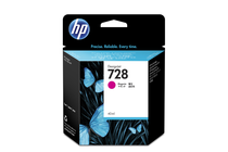 Мастила и глави за широкоформатни принтери » Мастило HP 728, Magenta (40 ml)