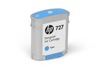 Мастила и глави за широкоформатни принтери » Мастило HP 727, Cyan (40 ml)
