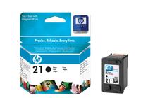 Мастила и глави за мастиленоструйни принтери » Касета HP 21, Black