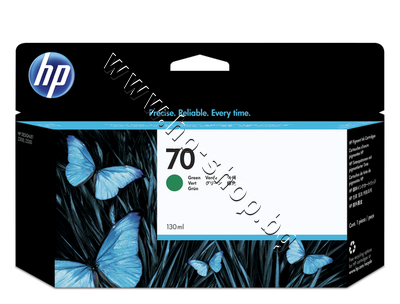 C9457A Мастило HP 70, Green (130 ml)