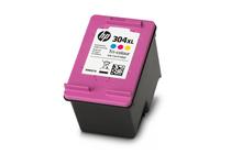 Мастила и глави за мастиленоструйни принтери » Касета HP 304XL, Tri-color