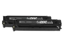 Тонер касети и тонери за цветни лазерни принтери » Тонер HP 128A за CM1415/CP1525 2-pack, Black (2x2K)