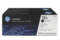 Тонер касети и тонери за лазерни принтери » Тонер HP 12A за 1010/1020/3000 2-pack (2x2K)
