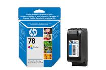 Мастила и глави за мастиленоструйни принтери » Касета HP 78, Tri-color 19 ml