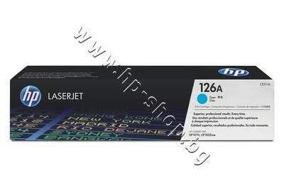 CE311A Тонер HP 126A за CP1025/M175/M275, Cyan (1K)