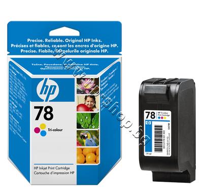C6578D Касета HP 78, Tri-color 19 ml