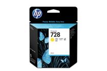 Мастила и глави за широкоформатни принтери » Мастило HP 728, Yellow (40 ml)