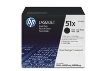 Тонер касети и тонери за лазерни принтери » Тонер HP 51X за P3005/M3027/M3035 2-pack (2x13K)
