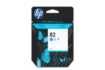Мастила и глави за широкоформатни принтери » Мастило HP 82, Cyan (28 ml)