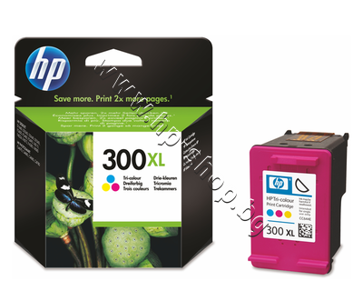 CC644EE Касета HP 300XL, Tri-color