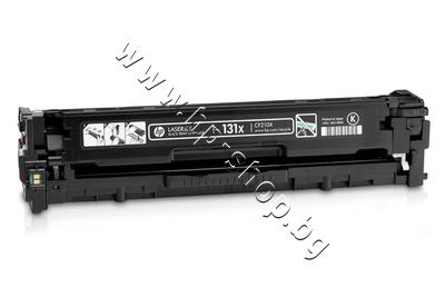 CF210X Тонер HP 131X за M251/M276, Black (2.4K)