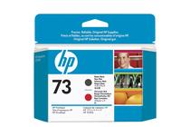 Мастила и глави за широкоформатни принтери » Глава HP 73, Matte Black + Chromatic Red