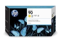 Мастила и глави за широкоформатни принтери » Мастило HP 90, Yellow (225 ml)