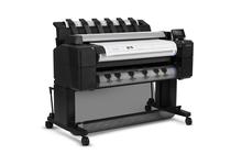 Широкоформатни принтери и плотери » Плотер HP DesignJet T2530ps mfp