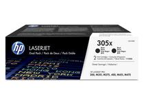 Тонер касети и тонери за цветни лазерни принтери » Тонер HP 305X за M375/M451/M475 2-pack, Black (2x4K)