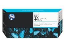 Мастила и глави за широкоформатни принтери » Глава HP 80, Black