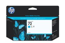 Мастила и глави за широкоформатни принтери » Мастило HP 72, Cyan (130 ml)