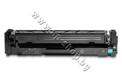 CF401X Тонер HP 201X за M252/M274/M277, Cyan (2.3K)