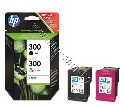 CN637EE Касета HP 300 combo 2-pack, 4 цвята