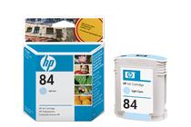 Мастила и глави за широкоформатни принтери » Мастило HP 84, Light Cyan (69 ml)