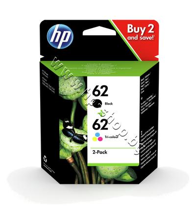 N9J71AE Касета HP 62 combo 2-pack, 4 цвята