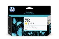Мастила и глави за широкоформатни принтери » Мастило HP 730, Yellow (130 ml)