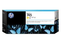 Мастила и глави за широкоформатни принтери » Мастило HP 745, Yellow (300 ml)