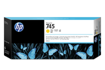Мастила и глави за широкоформатни принтери » HP Мастило No.745, Yellow 300 ml