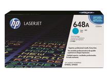 Тонер касети и тонери за цветни лазерни принтери » Тонер HP 648A за CP4025/CP4525, Cyan (11K)