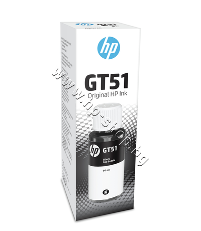 M0H57AE Мастило HP GT51, Black