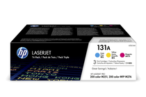 Тонер касети и тонери за цветни лазерни принтери » Тонер HP 131A за M251/M276 3-pack, 3 цвята (3x1.8K)