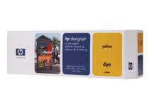 Мастила и глави за широкоформатни принтери » Комплект за DJ CP Dye, Yellow (410 ml)