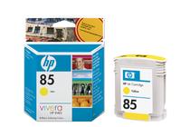 Мастила и глави за широкоформатни принтери » Мастило HP 85, Yellow (69 ml)