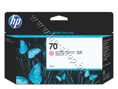 C9455A Мастило HP 70, Light Magenta (130 ml)