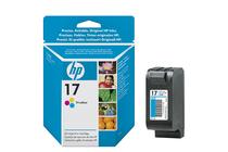 Мастила и глави за мастиленоструйни принтери » Касета HP 17, Tri-color