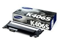 Тонер касети и тонери за цветни лазерни принтери Samsung » Тонер Samsung CLT-K406S за SL-C410/C460, Black (1.5K)