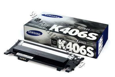 SU118A Тонер Samsung CLT-K406S за SL-C410/C460, Black (1.5K)
