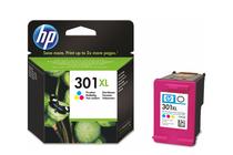 Мастила и глави за мастиленоструйни принтери » Касета HP 301XL, Tri-color