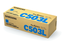 Тонер касети и тонери за цветни лазерни принтери Samsung » Тонер Samsung CLT-C503L за SL-C3010/C3060, Cyan (5K)
