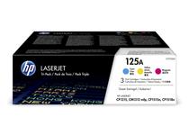 Тонер касети и тонери за цветни лазерни принтери » Тонер HP 125A за CP1215/CM1312 3-pack, 3 цвята (3x1.4K)