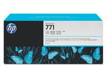 Мастила и глави за широкоформатни принтери » Мастило HP 771C, Light Grey (775 ml)
