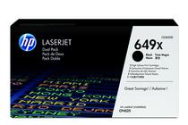 Тонер касети и тонери за цветни лазерни принтери » Тонер HP 649X за CP4525 2-pack, Black (2x17K)