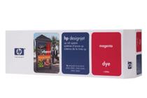 Мастила и глави за широкоформатни принтери » HP Комплект за DJ CP Dye, Magenta