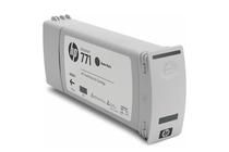 Мастила и глави за широкоформатни принтери » Мастило HP 771C, Matte Black (775 ml)
