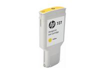 Мастила и глави за широкоформатни принтери » Мастило HP 727, Yellow (300 ml)