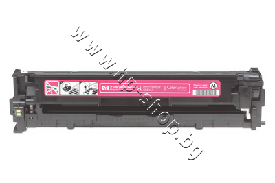 CB543A Тонер HP 125A за CP1215/CM1312, Magenta (1.4K)