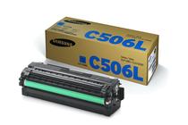Тонер касети и тонери за цветни лазерни принтери Samsung » Тонер Samsung CLT-C506L за CLP-680/CLX-6260, Cyan (3.5K)